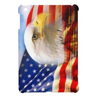 American Flag with Bald Eagle Cover For iPad Mini Case For The iPad Mini