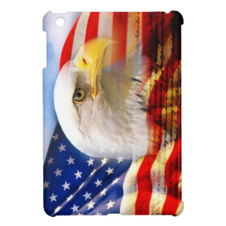 American Flag with Bald Eagle Cover For The iPad Mini