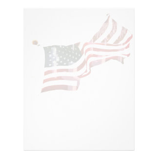 American Flag with Crosses Flyer