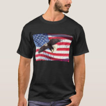 American Flag with Eagle T-Shirt