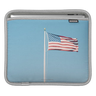American flag with vintage look sleeves for iPads