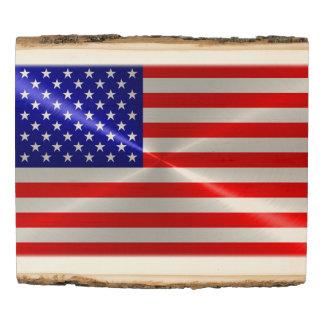 American Flag Wood Panel