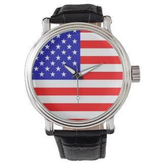 American Flag Wrist Watches