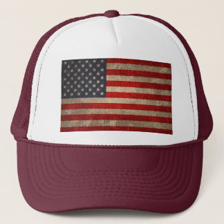 American Flag - xdist Trucker Hat