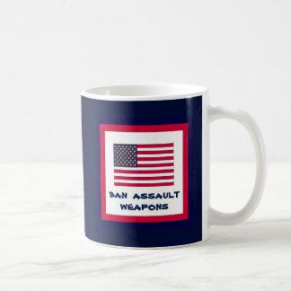 American Flag (Your Text) Coffee Mug