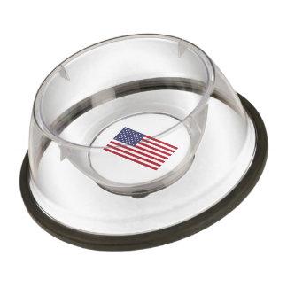 American Flag Pet Bowl