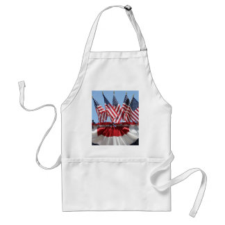 American Flags Apron