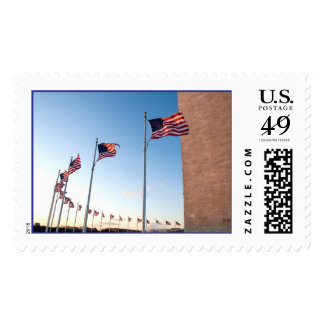 American Flags Postage