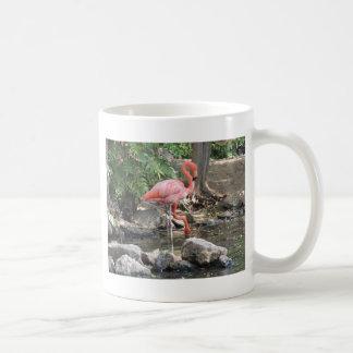 American Flamingo Classic White Coffee Mug