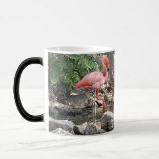 American Flamingo 11 Oz Magic Heat Color-Changing Coffee Mug