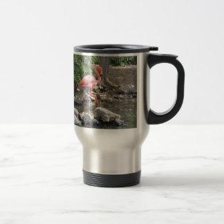 American Flamingo 15 Oz Stainless Steel Travel Mug