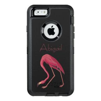 American Flamingo Vintage Aububon Birds of America OtterBox Defender iPhone Case