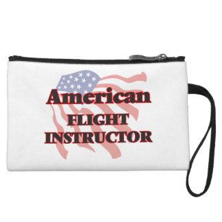 American Flight Instructor Wristlet Clutch