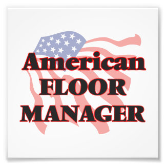 American Floor Manager Photo Print