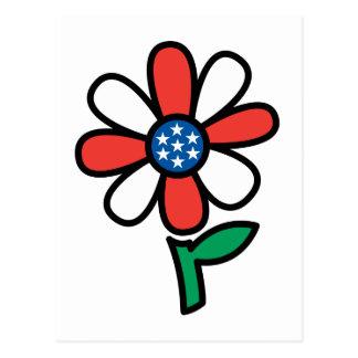 American Flower Postcard