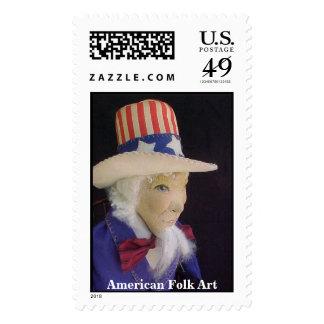 American Folk Art Stamp