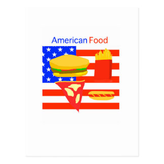 American Food. Post Cards