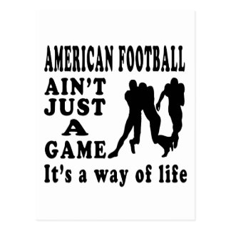 American Football Ain't Just A Game It's A Way Of Postcard