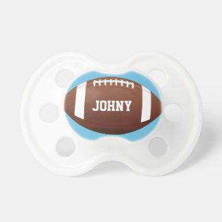 American Football Baby Boy Custom Name/Text Cute Pacifier
