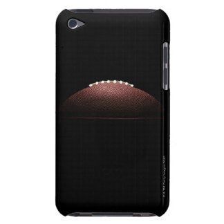 American football ball on black background iPod Case-Mate case