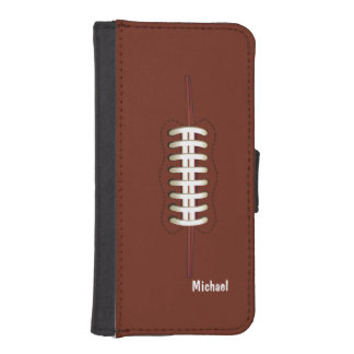 American Football Ball Phone Wallet Cases