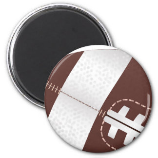 American Football Ball Up Close Magnet