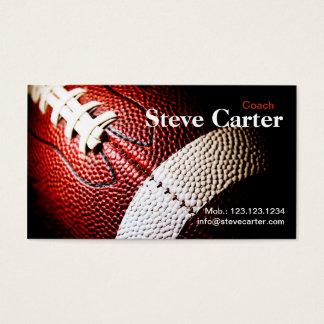 American Football Coach or Player Card Club Sport
