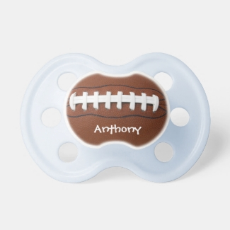 American Football Design Pacifier