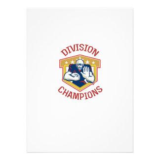 American Football Division Champions Shield Invitation
