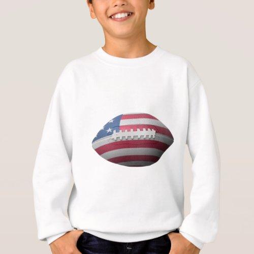 American Football Flag Sweatshirt