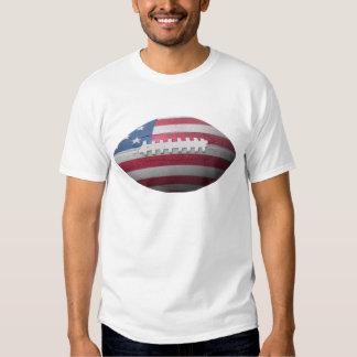 American Football Flag T Shirt