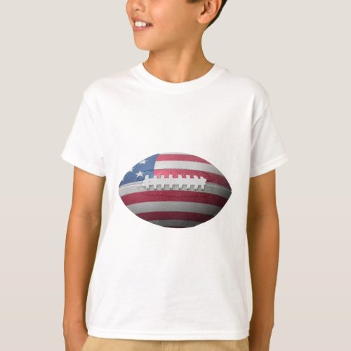 American Football Flag T_Shirt