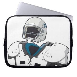 American football gear computer sleeve