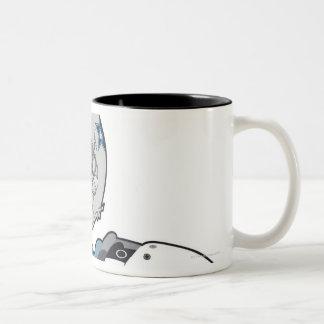 American football gear Two-Tone coffee mug