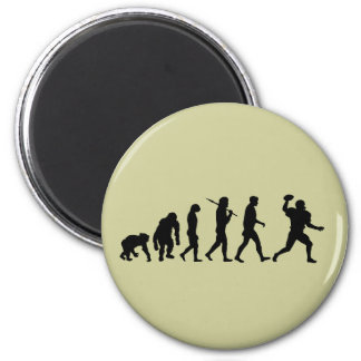 American football gifts for football players 2 inch round magnet