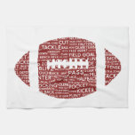 american football gifts towels