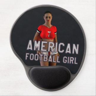 American Football Girl Chablis Gel Mouse Mat