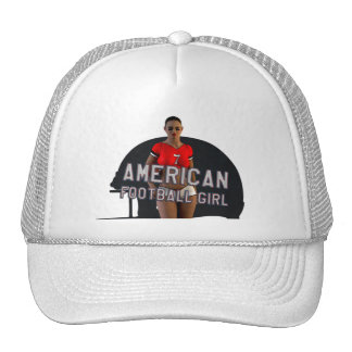 American Football Girl Chablis Trucker Hat