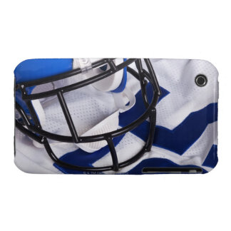 American football helmet and shirt still life iPhone 3 cover