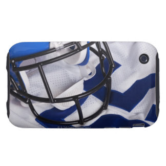 American football helmet and shirt still life iPhone 3 tough cover