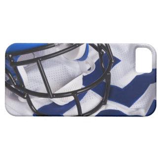 American football helmet and shirt still life iPhone SE/5/5s case