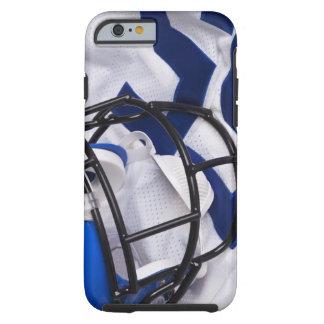 American football helmet and shirt still life tough iPhone 6 case