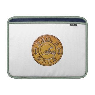 american football helmet february 3 2013 MacBook air sleeve
