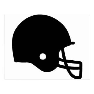American Football Helmet Postcard
