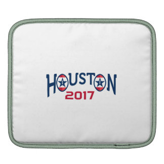 American Football Houston 2017 Word Retro Sleeve For iPads