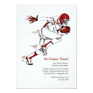 American Football Invitation