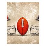 american football letterhead