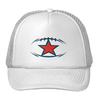 American football modernstyle star trucker hat