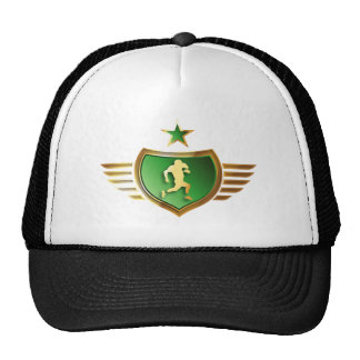 american football more player trucker hat