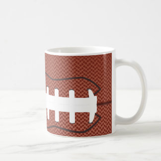 american football classic white coffee mug